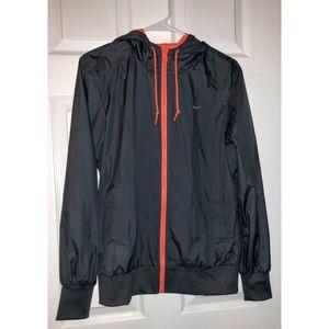 Nike Coral & Gray Athletic Jacket
